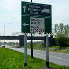 Powder Plastic Sprayed Road Steel Sign Pole