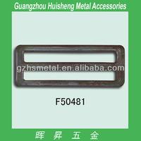 Hot selling bag metal slide buckle of bag accessories