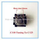 motorcycle cylinder C110 Tuning to C125 motorcycle tuning accessories