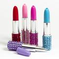 chers interwell bp189a bling bling style rouge à lèvres stylo de fantaisie