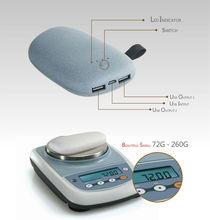 stone power bank 10400mAh for Samsung,iPhone,iPad,laptop