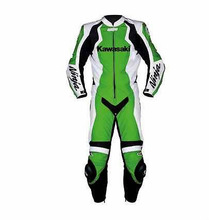 kawasaki Motorbike,Motorcycle racing leather One piece suit