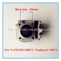 For yamaha 100 Tuning to 150cc 55mm for yamaha cylinder kit
