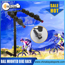 Four 4 Bicycle Carrier/Ball Mounted Bike Rack