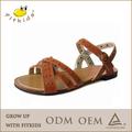 elegante flat 2014 sandálias sandálias sandálias meninas novo design de moda da sandália