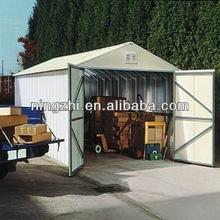 Folding vehicle steel garage