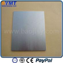 Tungsten plate blanks