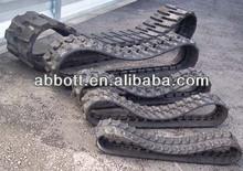 Small agricultural machine rubber tracks farm tractors