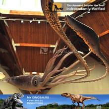My-dino outdoor soft rubber sea animal octopus sculptures