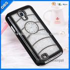 2014 new design ambulatory rhinestone PC mobile phone case for ipone5 5s(OBS-M4053-7)