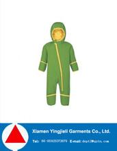 OEM 228T taslon fashion green one piece ski jacket for winter 2015