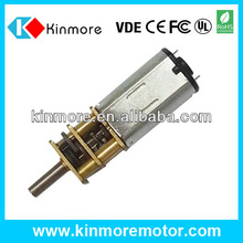 new type high torque high speed 6v dc gear motor made in china