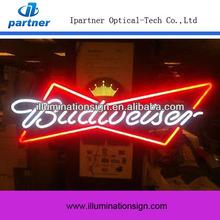 Screen Printing Budweiser Custom Neon Sign