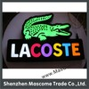 LED company embossed letters/shapes lighting logo