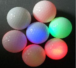 Fashion vibration LED flashing new golf ball wholesale