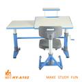Altura ajustable de mesa de estudio de los niños mobiliario escolar