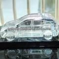 نموذج سيارة مخصصة الكريستال k9 لهدية عيد ميلاد، التذكارية الأعمال، الديكورات المنزلية