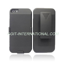 Shell Holster Combo Case for iphone 5 Kickstand