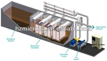 Containerized MBR Industrial Sewage Waste Water Treatment Equipment / MBR Bioreactor