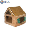 High quality luxury pet dog beds & fabric cheap dog house