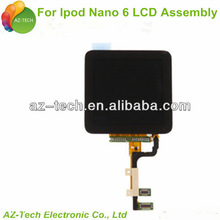 lcd+touch digitizer assembly for ipod nano 6th