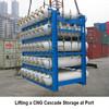 CNG storage cascade, CNG ground storage, CNG cylinder cascade
