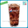 pepsi branded soda driking glass