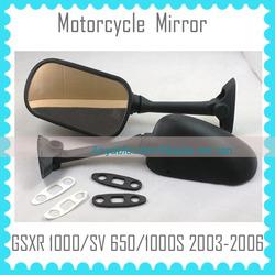 motorcycle parts factory motorcycle mirror For GSXR1000 2003-2006 GSXR 1000 2003 2004 2005 2006 GSXR1000 03 04 05 06 Mirror