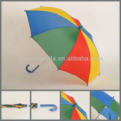 """13C004:19""""x8 ribs manual 4 color umbrella"""