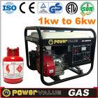 2kw Home Power Generators Copper Wire Petrol Natural Gas Kerosene