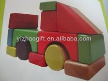 Geometric blocks shape wooden toys,shape changing toy