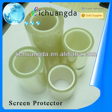 2014 Japan anti-scratch Factory price wholesale best quality high clear pet screen protector material roll