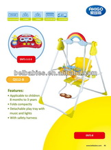 Children swing rainbow shape design QS12