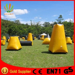 cheap airsoft inflatable bunkers paintball for sale