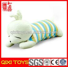 Cute design rabbit plush pillow