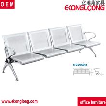 4 koltuk bekleme koltuğu/demir bahçe mobilyaları döküm