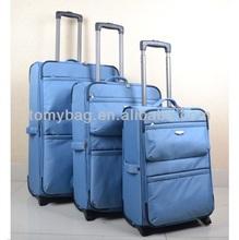 stocklot lightweight telescopic handle luggage