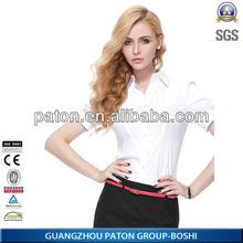 Business Shirt For Women,Slim Fit Cotton Women Dress Shirt