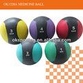 hochwertigem gummi medizinball mit logo