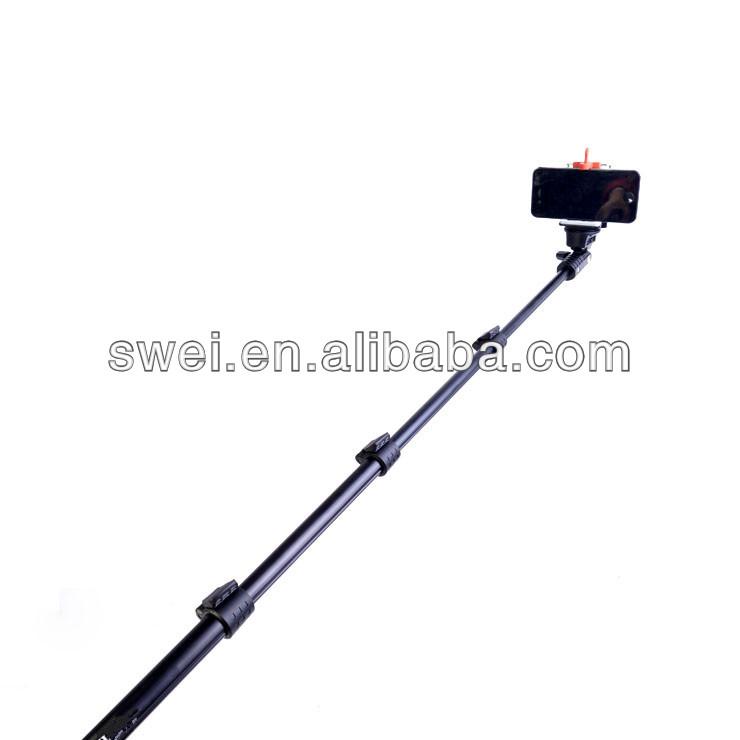 multi funcional de la c mara telesc pica polo selfie stick de mano con ajusta. Black Bedroom Furniture Sets. Home Design Ideas
