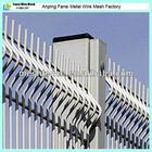 Garden/house filed fence Residence Fence Welded Galvanized Cyclone Wire Fence(foshan factory)
