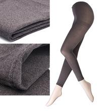 7005-10 Fashion design snow fuzzy cotton heels and pantyhose