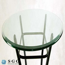 High quality glass top round dining table (round,oval,square,rectangle)