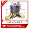 Working safety protection boots for firefighting work