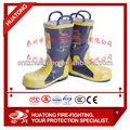 Ce bombero antideslizante de la descarga eléctrica Pierce resistencia de calor de freno resistencia a caídas de protección botas