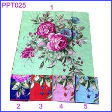 Square twill silk scarf 90x90 brand