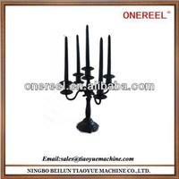 Widely-used decorative plastic candelabra