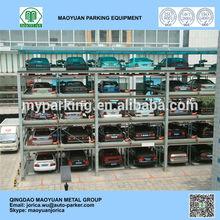 Three Level Mechanical Car Parking System Manufacturer/ car parking system/ multi-level parking lot