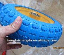 "hot sales 10"" airless PU foamed wheel"