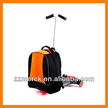 Scooter trolley school backpack bag for student